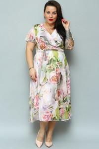 Sukienka KARKO z szyfonu
