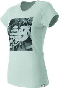 Niebieski t-shirt New Balance z bawełny