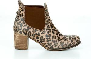 Botki Zapato w stylu casual ze skóry