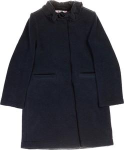 Granatowy płaszcz dziecięcy Il Gufo
