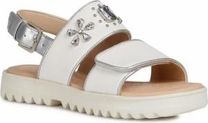 Buty dziecięce letnie Geox z klamrami dla dziewczynek