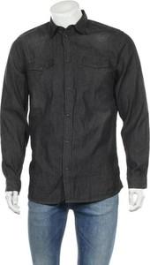 Czarna koszula Livergy z długim rękawem