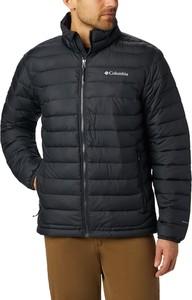 Czarna kurtka Columbia w stylu casual