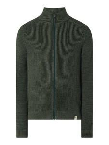 Zielony sweter McNeal w stylu casual z dzianiny