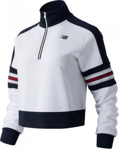 Bluza New Balance krótka z bawełny w sportowym stylu
