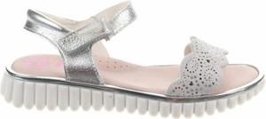 Buty dziecięce letnie Pablosky na rzepy dla dziewczynek