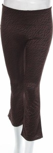 Spodnie Zara Trafaluc z nadrukiem w stylu retro
