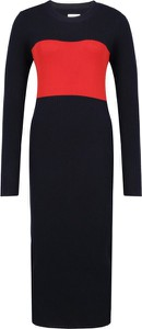 Sukienka Calvin Klein w stylu casual midi