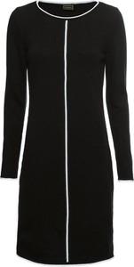 Czarna sukienka bonprix RAINBOW