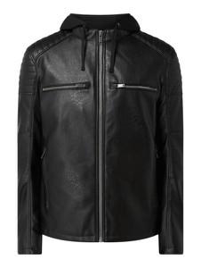 Czarna kurtka Montego w stylu casual
