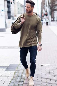 Brązowa bluza Ivet.pl w stylu casual z bawełny