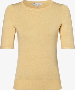 Żółty sweter Marie Lund