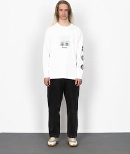 Koszulka z długim rękawem Element z długim rękawem z bawełny