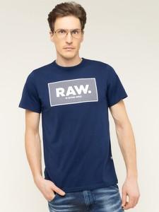 Granatowy t-shirt G-Star Raw