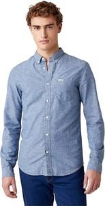 Koszula Wrangler z długim rękawem z kołnierzykiem button down
