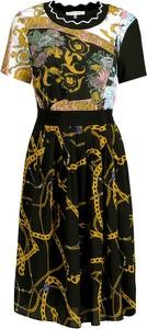 Sukienka Silvian Heach maxi z okrągłym dekoltem