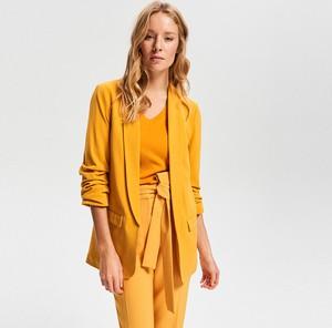 1fe8ebea1c9cf żakiety żółte - stylowo i modnie z Allani