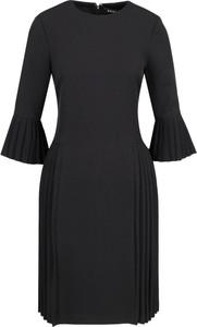 Sukienka DKNY z okrągłym dekoltem midi