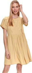 Sukienka Top Secret w stylu casual z dzianiny mini
