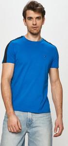 T-shirt Tommy Hilfiger z dzianiny w stylu casual z krótkim rękawem