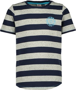 Koszulka dziecięca Vingino w paseczki z krótkim rękawem z bawełny