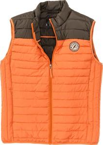 Pomarańczowa kamizelka bonprix bpc selection w sportowym stylu