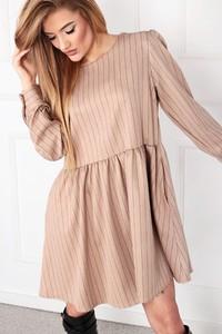Sukienka Ptakmoda.com oversize z długim rękawem