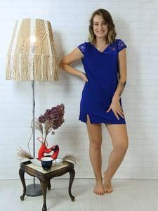Niebieska piżama Equlik