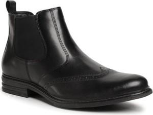 Czarne buty zimowe Go Soft