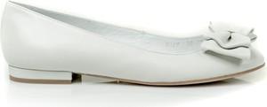 Baleriny Buty Baldowski w stylu casual ze skóry z płaską podeszwą