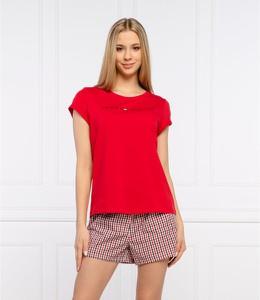 Czerwona piżama Tommy Hilfiger