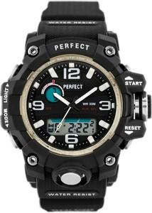 ZEGAREK DAMSKI PERFECT A8004 - czarny (zp840a) - Czarny