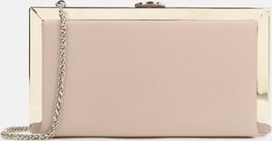 Różowa torebka Kazar w stylu glamour