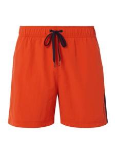 Pomarańczowe kąpielówki Tommy Hilfiger