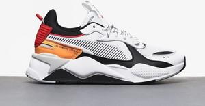 Buty sportowe Puma ze skóry w młodzieżowym stylu
