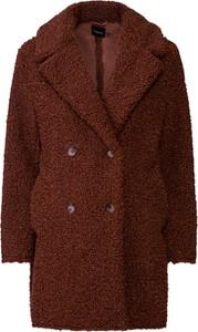Brązowy płaszcz BooHoo w stylu casual