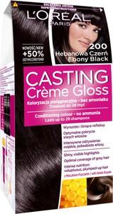 L'Oreal Paris L'oréal Paris Casting Crème Gloss Farba Do Włosów 200 Hebanowa Czerń