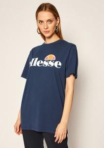 T-shirt Ellesse z okrągłym dekoltem w sportowym stylu