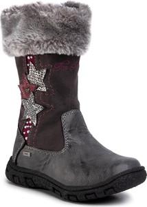 Buty dziecięce zimowe eobuwie.pl na zamek