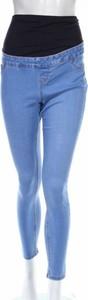Niebieskie jeansy New Look Maternity