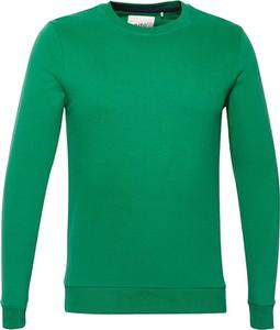 Zielona bluza Esprit z bawełny
