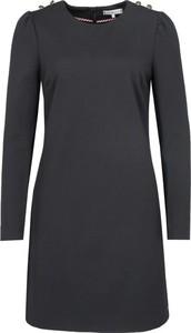 Sukienka Tommy Hilfiger mini z okrągłym dekoltem