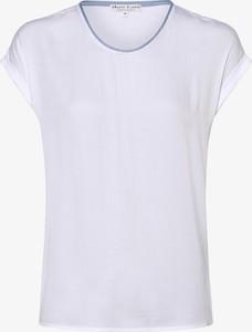 T-shirt Marie Lund z okrągłym dekoltem w stylu casual z krótkim rękawem