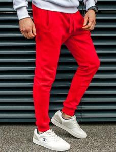 Spodnie sportowe Recea z dresówki