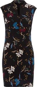 Sukienka More & More z dekoltem w kształcie litery v mini bez rękawów