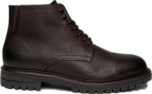 Buty zimowe Cc Collection Corneliani sznurowane