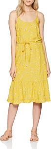 Żółta sukienka Blend She