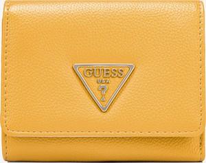 Żółty portfel Guess