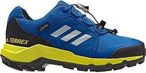 Niebieskie buty trekkingowe dziecięce Adidas