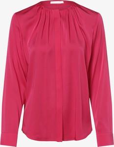 Różowa bluzka Hugo Boss z długim rękawem
